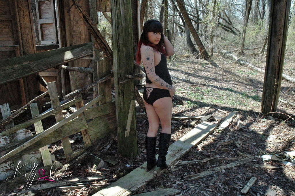 Marvelous Kelly Strips Outdoors